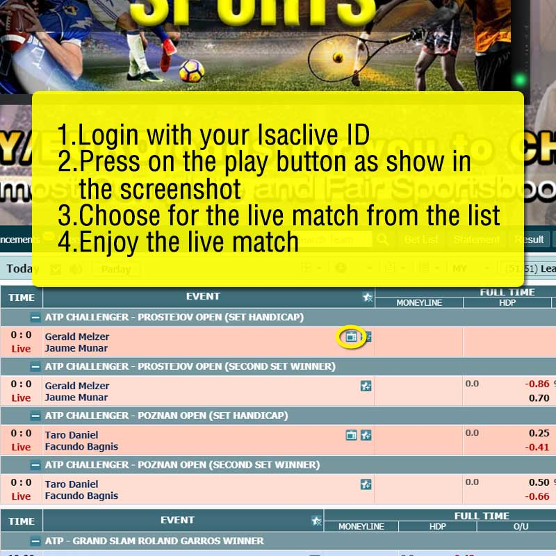 how to watch live